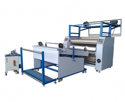 Drying flattening machine